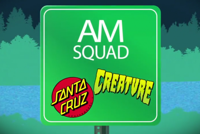 AM Squad: In the Park with Santa Cruz & Creature