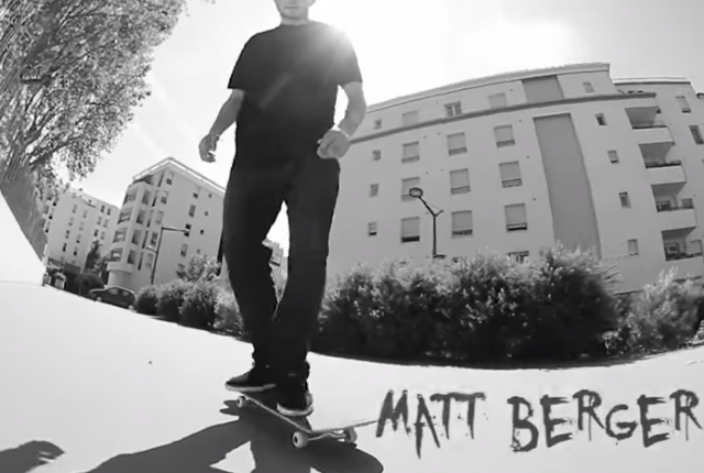 Matt Berger - Bones Wheels