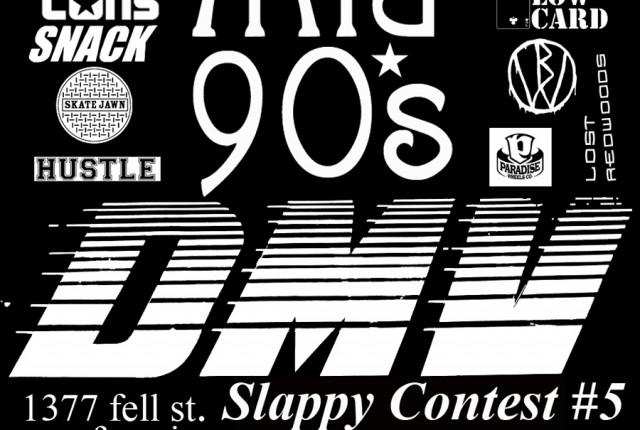 mid 90s slappy flyer
