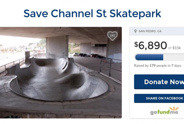 Save Channel St Skatepark