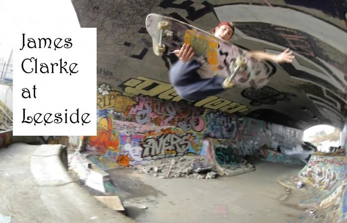 James Clarke at Leeside…