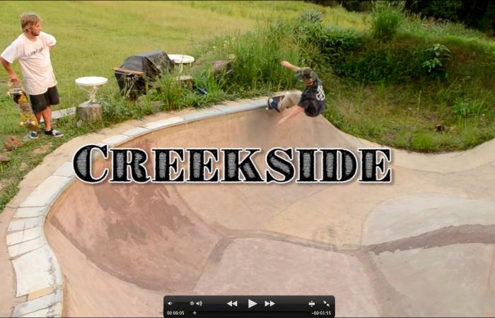 Creekside DIY…