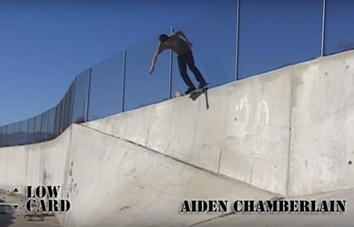 Aiden Chamberlain…
