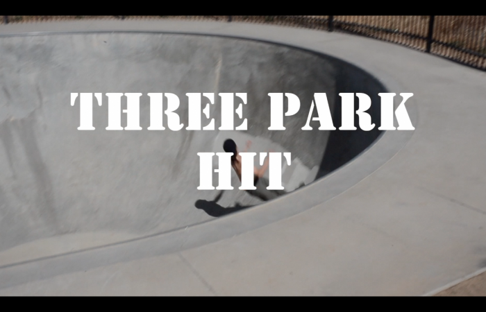 "Lowcard and MILO Skateshop Auburn presents ""Three Park Hit"""