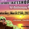 Lighthouse Skateshop 1 Year Anniversary Party…