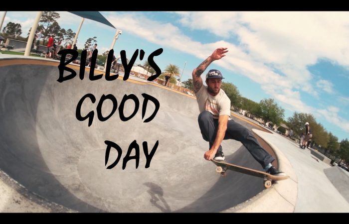Billy's good day…