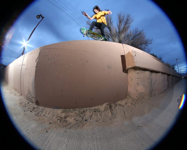 Jake Johnson_bikepath ledge back five o_Albuquerque_NM_photo RYAN MADDOX