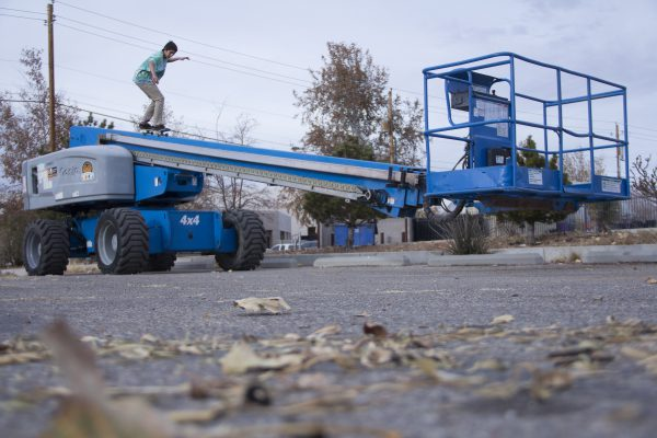 Michael Sanchez_fifty cherry picker_Albuquerque NM_photo RYAN MADDOX
