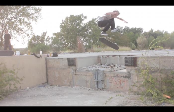 Tristan Moss – Laugh skateboards…