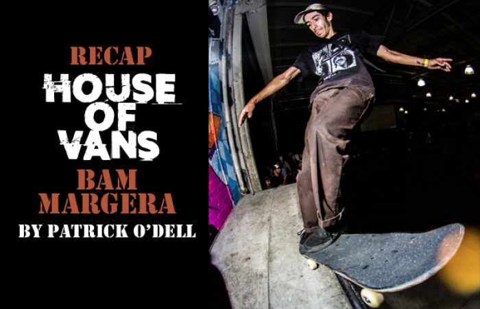 House of Vans – Bam Margera…