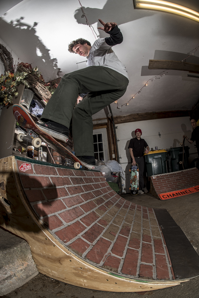 Tyler Fisher fs 50 at Bastards Lounge - Photos Joe Makarski
