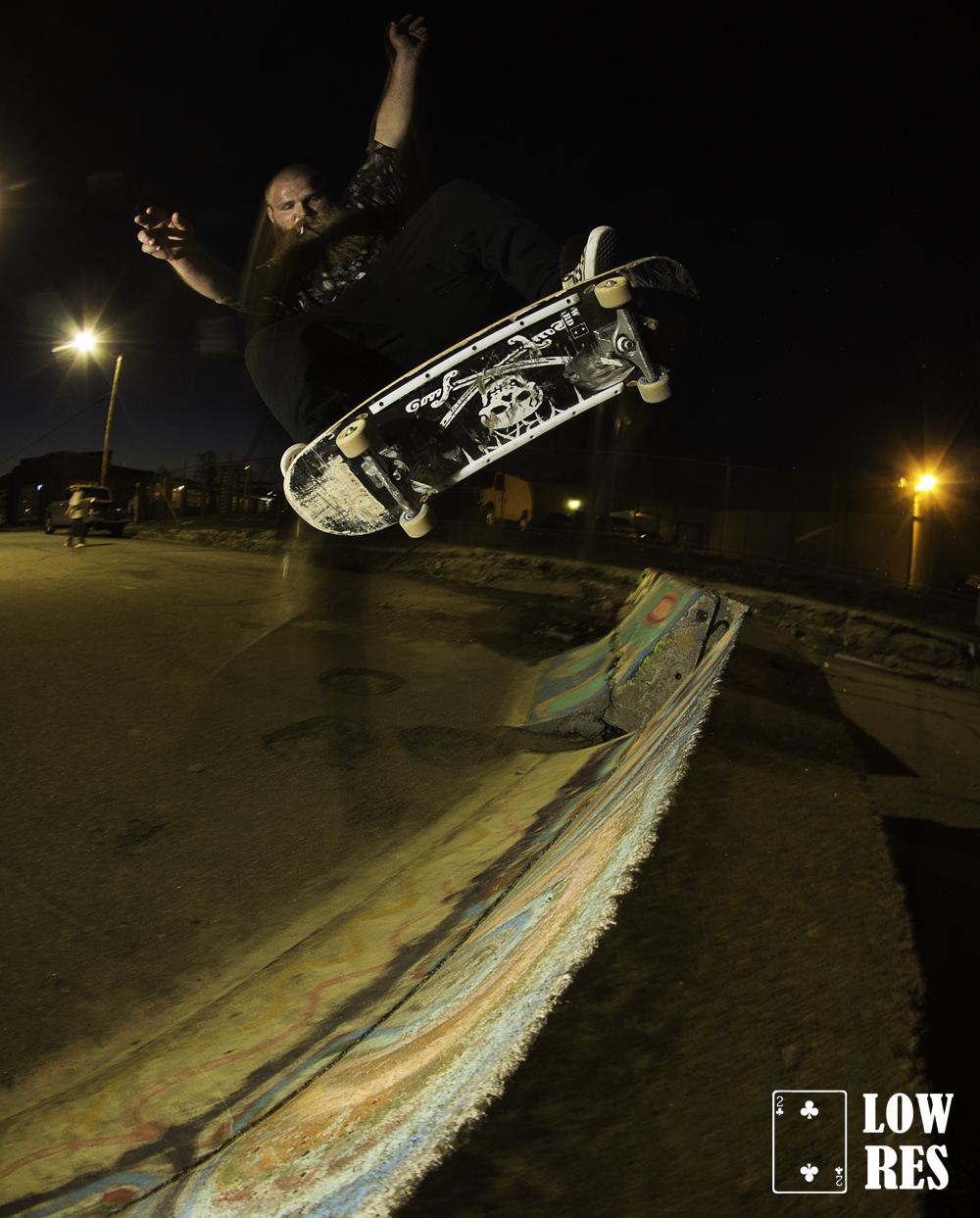 Adam Mueller- kickflip fakie-detroit-Eddie Liddy
