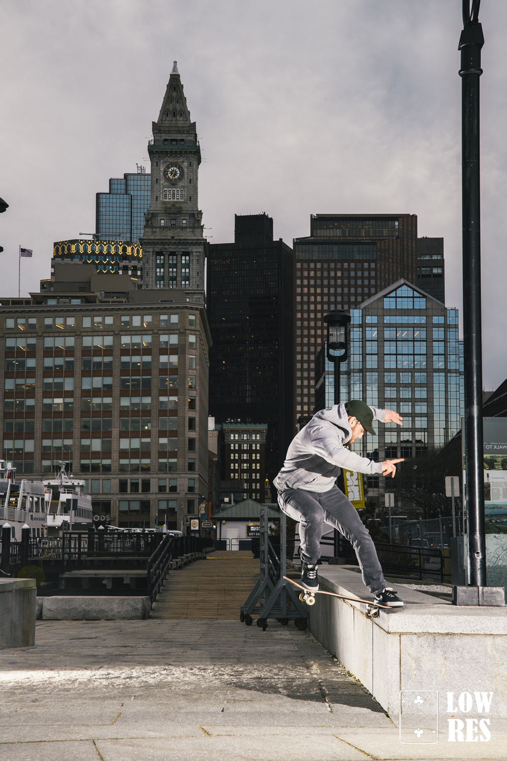 John Desimas - front nose slide - Boston, MA - Michael Cirelli