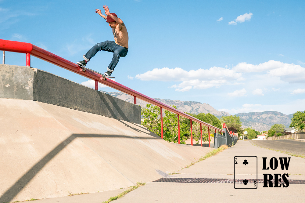 Tony Ellis, Front Tailslide in ABQ - Elias PARISE