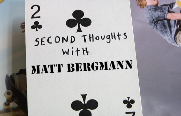 Second Thoughts with Matt Bergmann