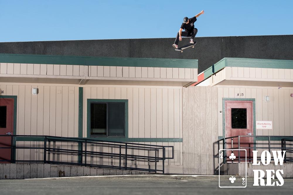 Bryan Gennaro_RoofGapTruckee, CA_Kickflip-1