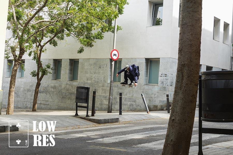 Edwyn John pole jam, Barcelona Chadwick