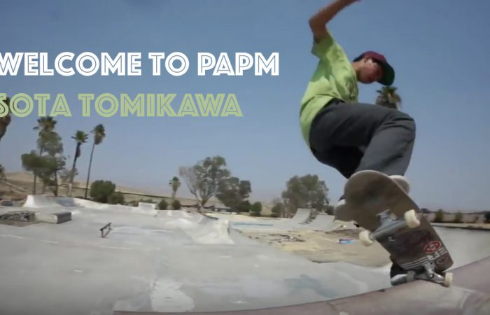 Welcome to PAPM – Sota Tomikawa…