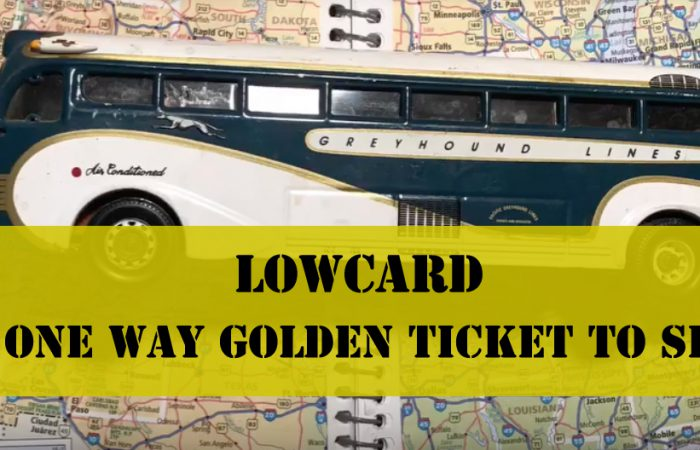 LOWCARD Golden Ticket!