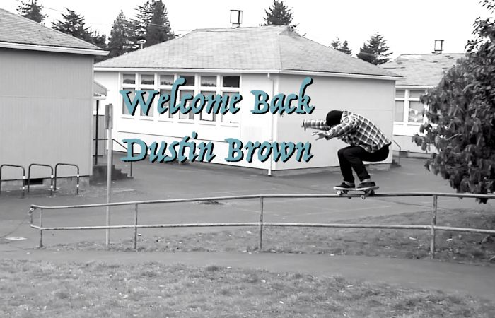 Welcome back Dustin Brown…