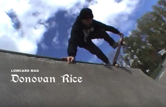 Donovan Rice Pro Part…