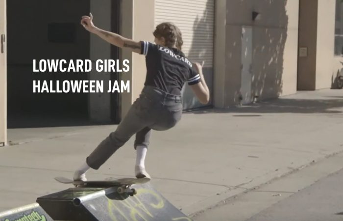 LOWCARD Girls Halloween Jam..