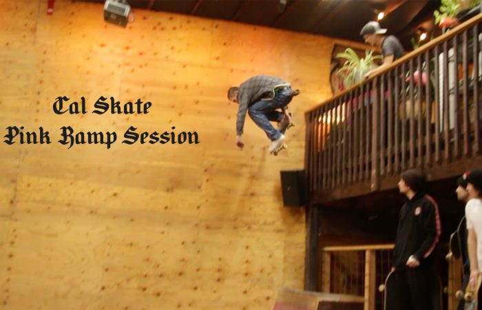 Cal Skate's Pink Ramp Session…