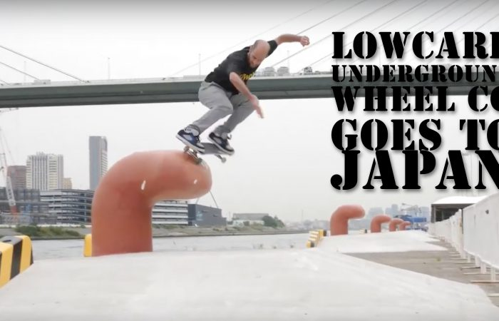 Underground Wheel CO Goes Japan…